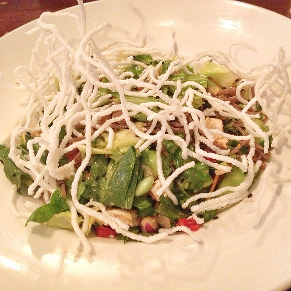 Soba Chicken Salad - The Wise Boxer Pour House, Naperville, IL