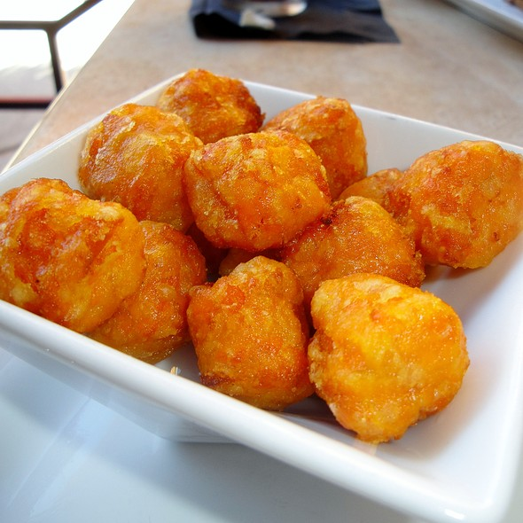 Sweet Potato Tots @ Tryst Cafe