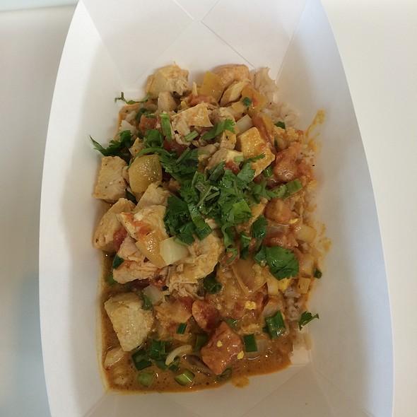 chicken tikka masala @ Johnson Controls Cafeteria