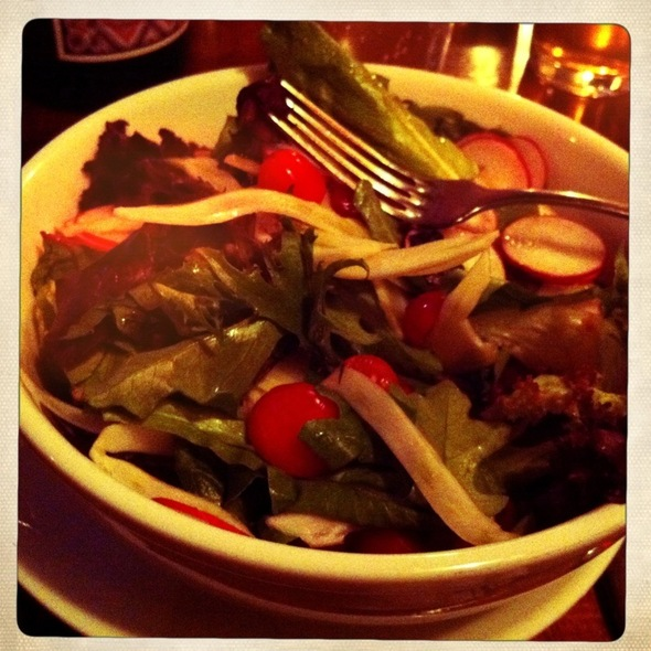 Mixed Green Salad (No Cheese) @ Rubirosa