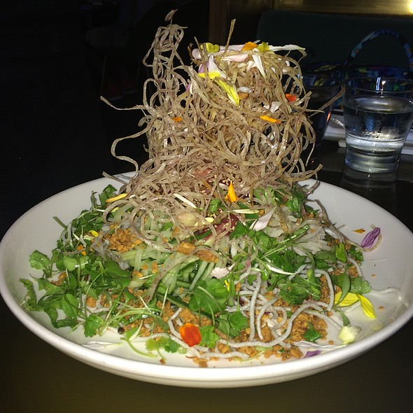 Susur's Signature Singaporean-Style Slaw - Lee, Toronto, ON