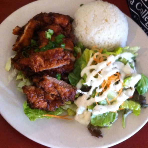 Korean Chicken @ Island Style Cafe