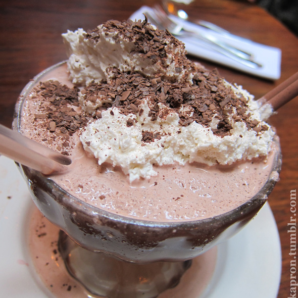 Frrrozen Hot Chocolate @ Serendipity 3