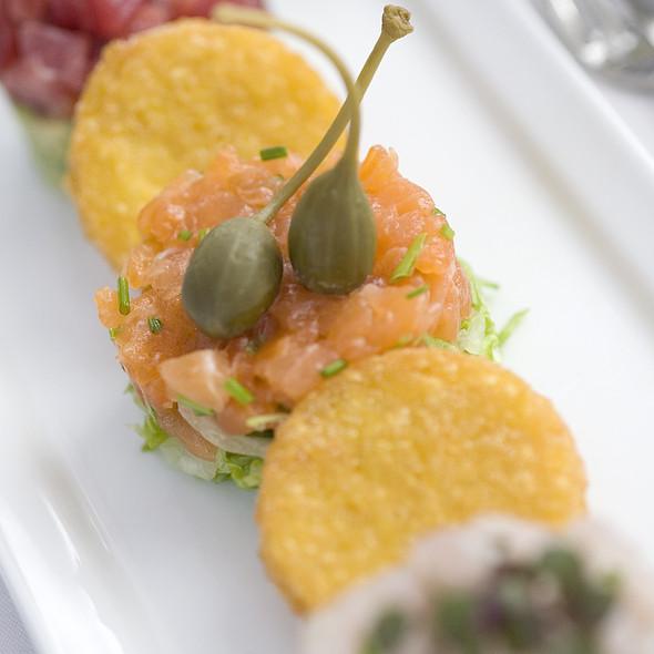 Trio of Fish Tartar - BICE - San Diego, San Diego, CA