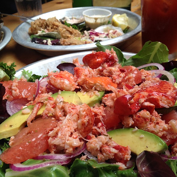 Poached Lobster and Avocado Salad @ Lobster Joint
