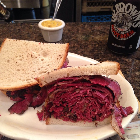 Hot Pastrami On Rye @ 2nd Ave Deli