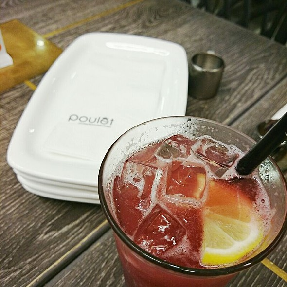 Raspberry Lemonade @ Poulet (Terminal 3)