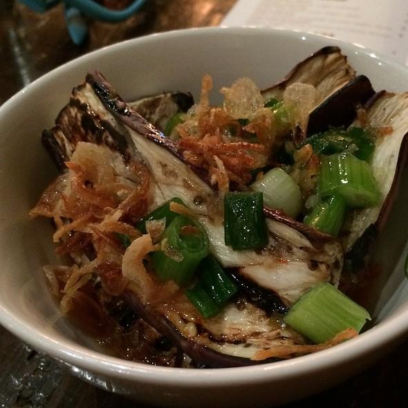 Grilled Japanese Eggplant @ Obao