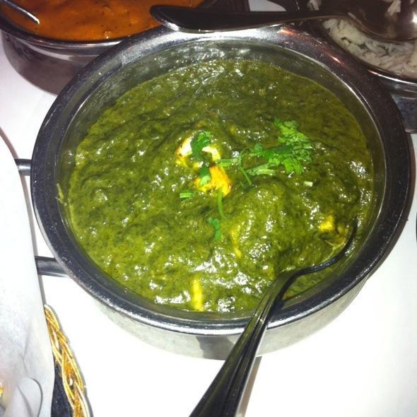 Palak Paneer @ Amber India Restaurant