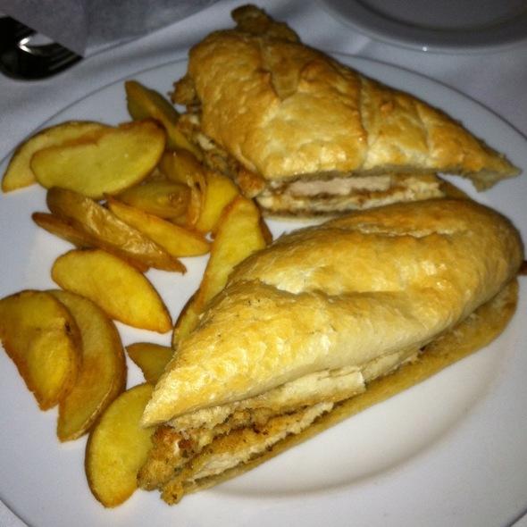 Chicken Sandwich - Malio's Prime, Tampa, FL