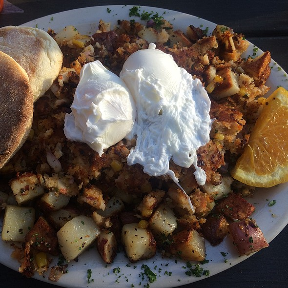 Louisiana Crab Hash @ City State Diner