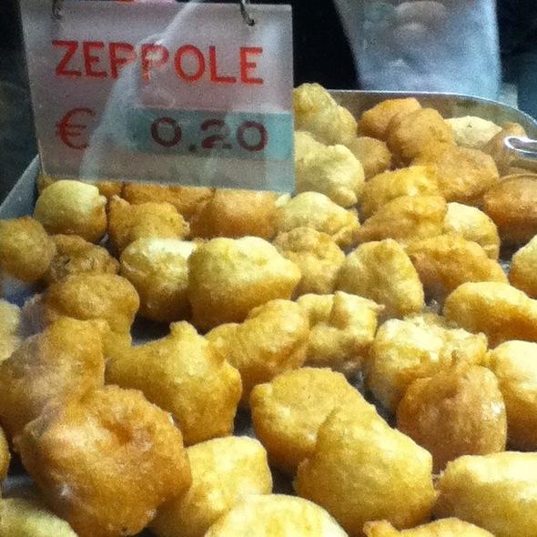 zeppole @ Pizzeria Di Matteo