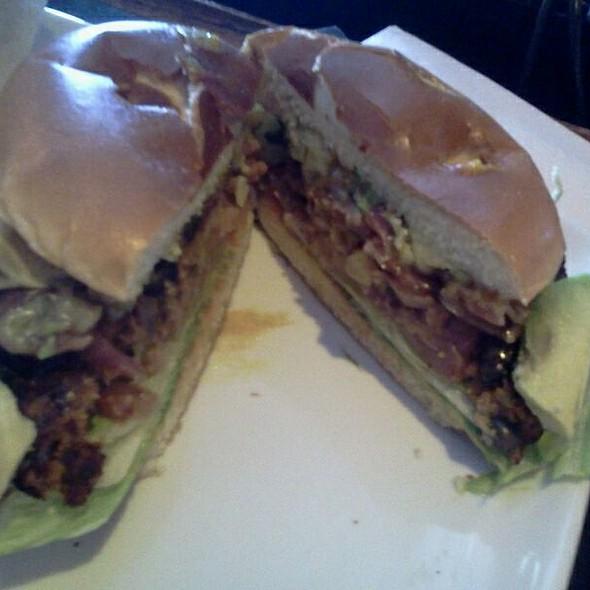 Sedona black bean burger