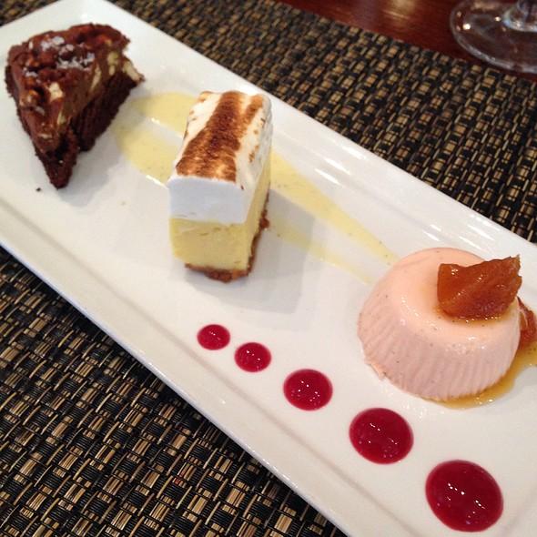 Dessert Trio - Davio's - Philadelphia, Philadelphia, PA