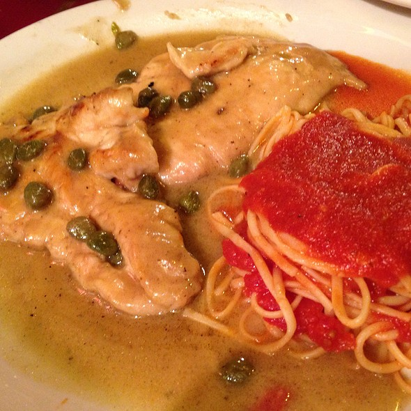 Chicken Piccata @ Benito One