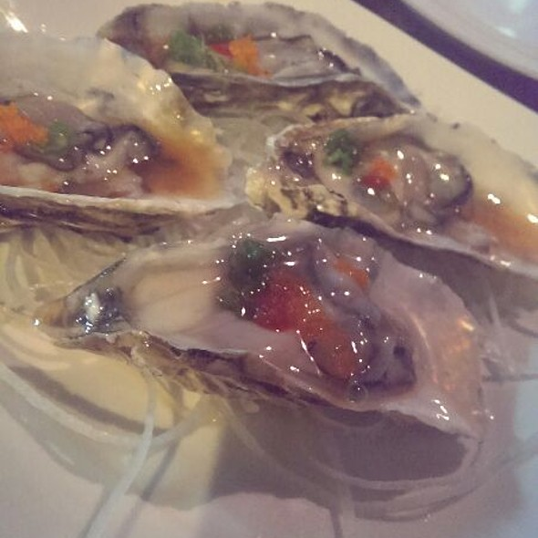 Oysters On A Halfshell  @ Soyokaze