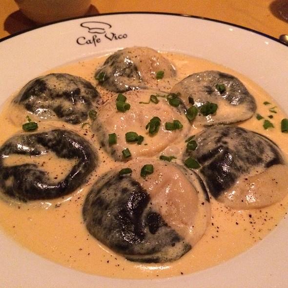Seafood Ravioli - Cafe Vico Ristorante, Fort Lauderdale, FL