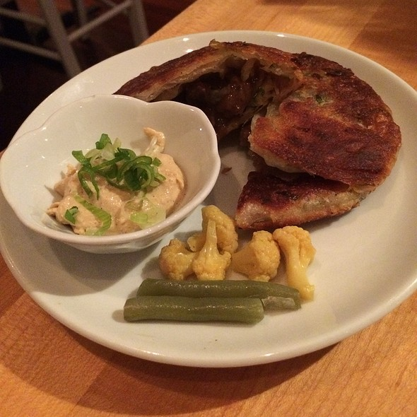 Scallion Pancakes @ East by Northeast