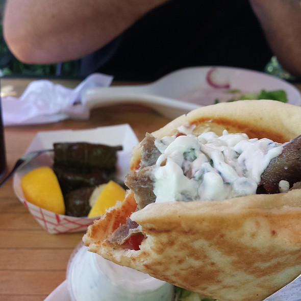 Gyro @ The Mad Greek