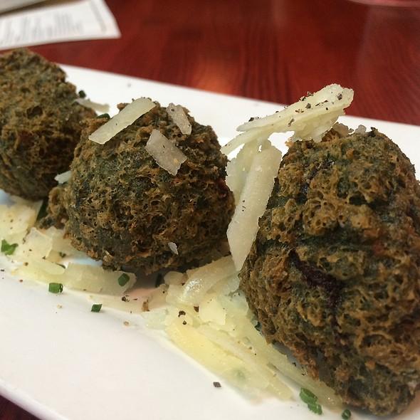 Spinach And Manchego Bunuelos