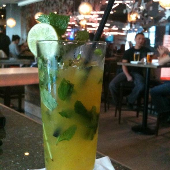 Mango Mojito @ Milestones Grill + Bar