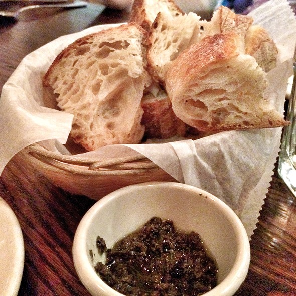 Bread and Tapanade - Rabia's, Boston, MA