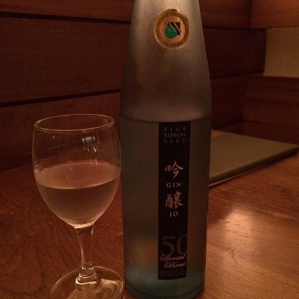 Blue Ribbon Junmai Ginjo Sake
