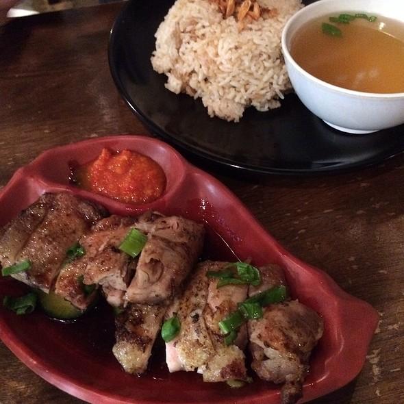 Chicken Rice @ Laksa Bar