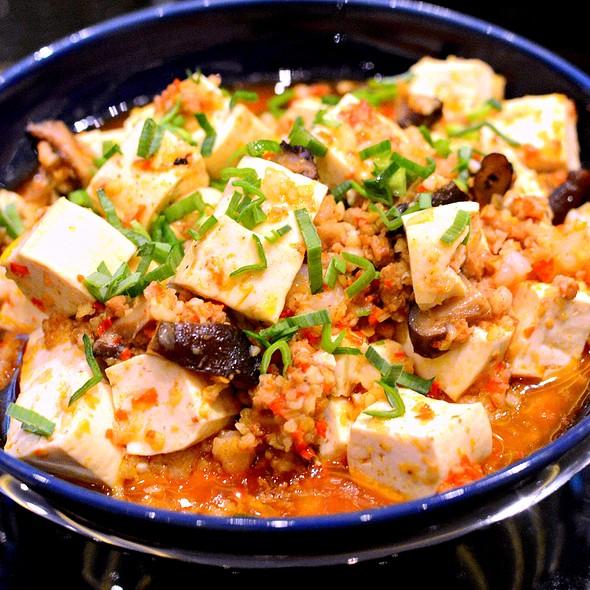 三鮮麻婆豆腐,Braised Beancurd with Minced Pork,Prawns,Chilli Oil & Siuchuan Pepper @ 滿堂彩 Beijing Kitchen