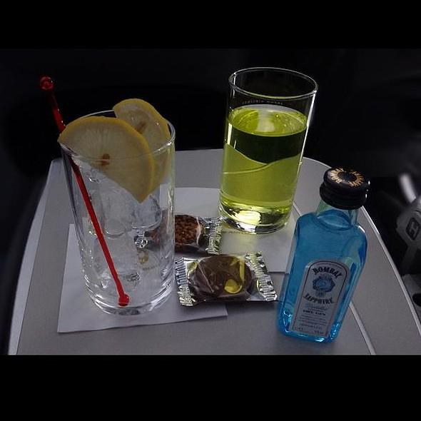I Make My Recipe Cocktail @ JL037 Haneda→Singapore