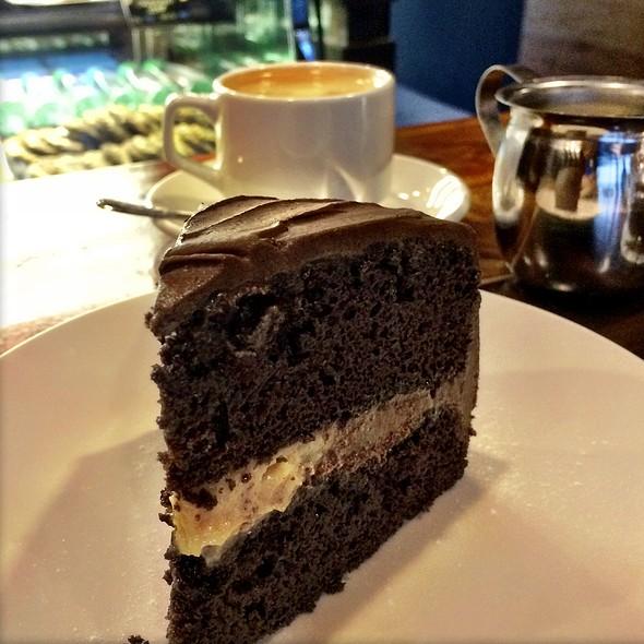 Chocolate Cake With Caramel Filling @ The Farm Organics