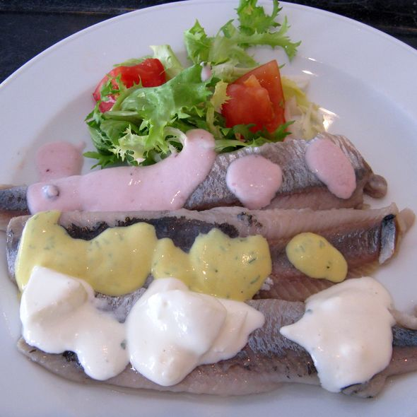 Soused Herring Fillet @ Paparazzi Restaurant