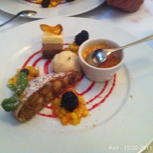 Desservariation @ Borchardt Restaurant Gourmetrestaurant