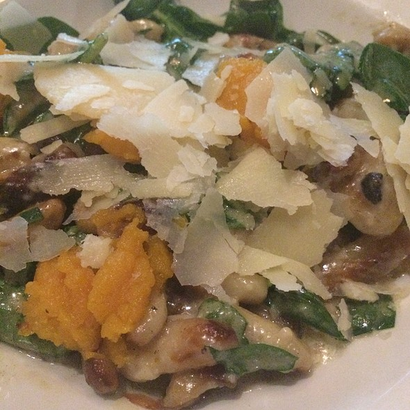 Gnocchi With Roasted Butternut Squash @ Cooper's Hawk Winery & Restaurant