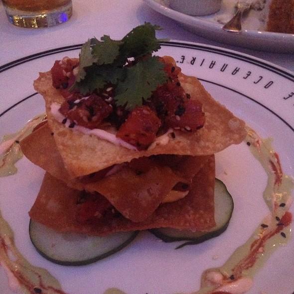 Ahi Tuna Stack - Oceanaire Seafood Room - Dallas, Dallas, TX
