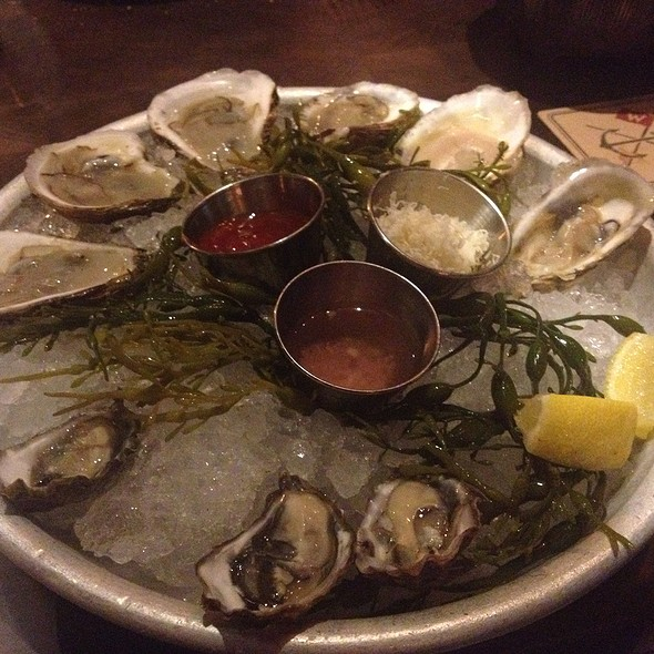 Oyster Sampler @ Water Grill