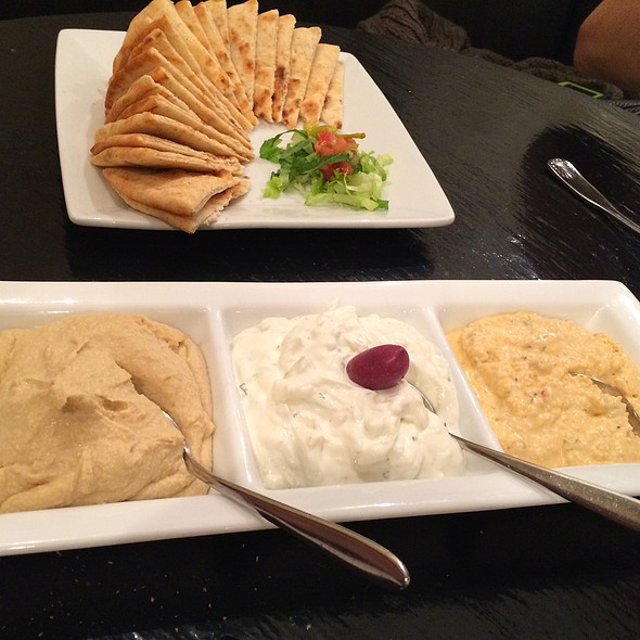 Tria Spreads @ Ammos Authentic Greek Cuisine