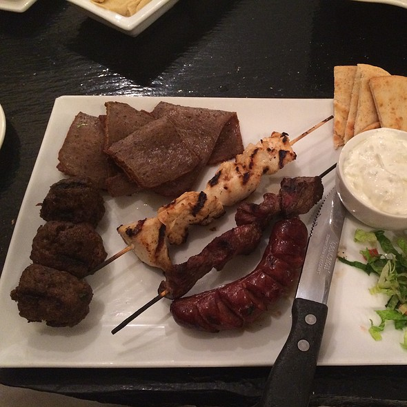 Meatlovers Platter @ Ammos Authentic Greek Cuisine