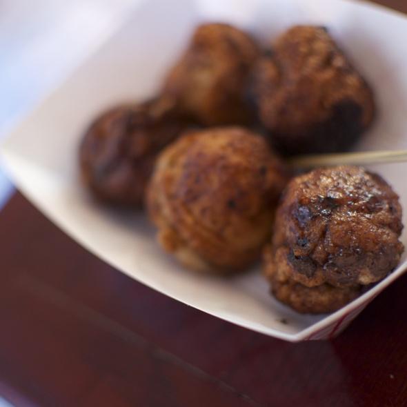 Chocolate Chip Pancake Maru Balls @ Maru Global Takoyaki