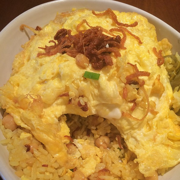 Burmese Style Yellow Beans Fried Rice @ Mingalaba Restaurant