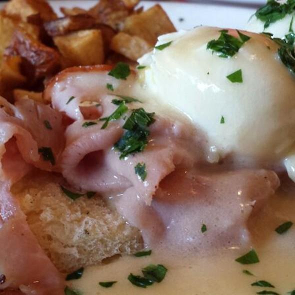 Eggs Benedict - Toulouse Petit Kitchen & Lounge, Seattle, WA