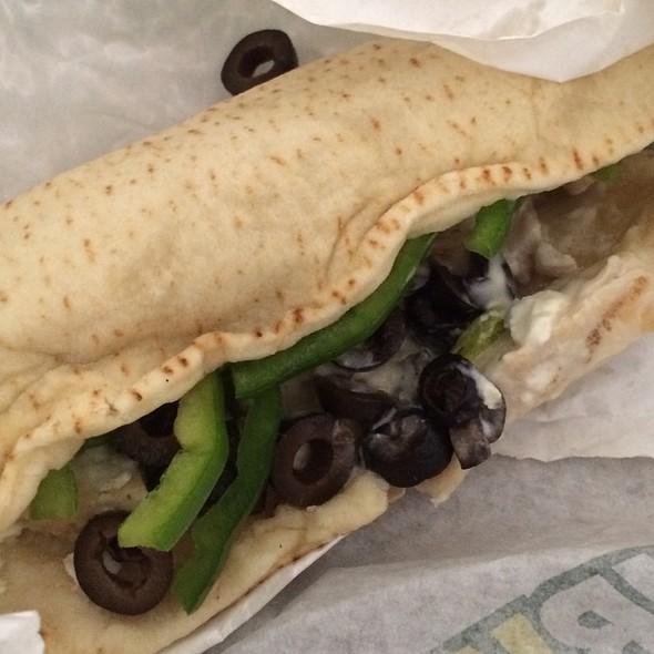 Mediterranean Chicken Sandwich @ Subway