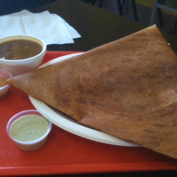 Masala Dosa @ NeeHee's Indian Vegetarian Street Food