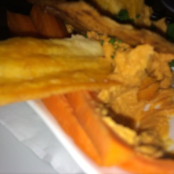Red Pepper Hummus - Allred's Restaurant, Telluride, CO