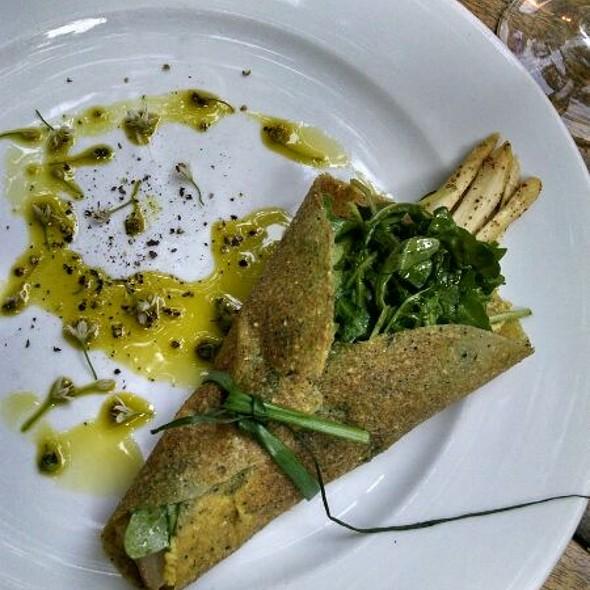 White Asparagus Crepe