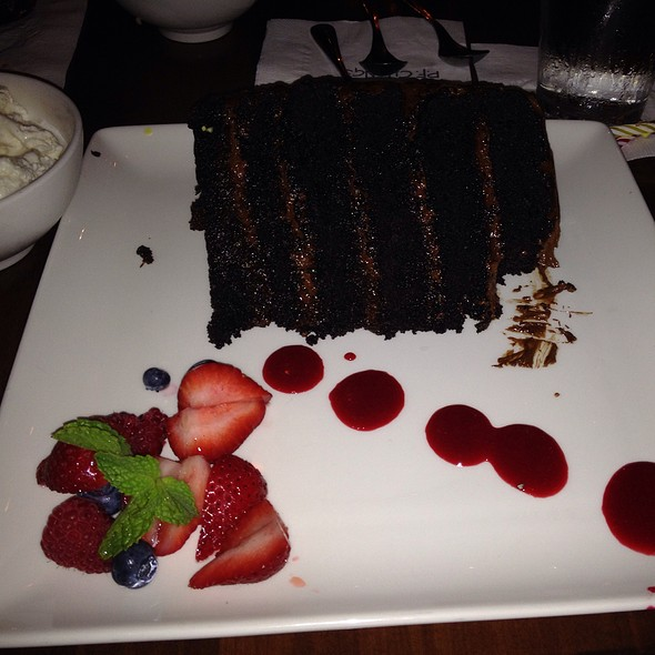 great wall of chocolate @ PF Chang's