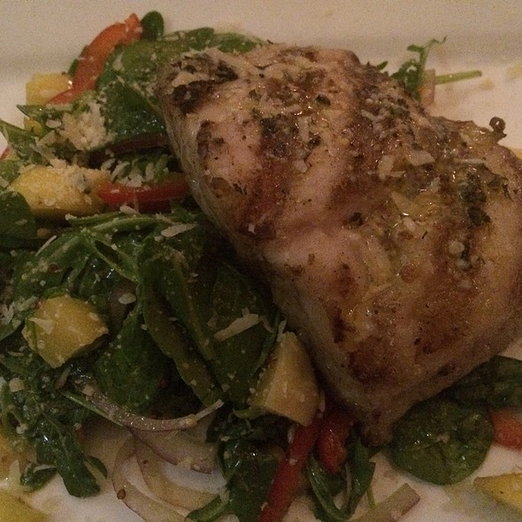 Grouper With Mango - Jolie's Louisiana Bistro, Lafayette, LA