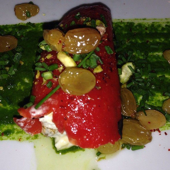 Stuffed Piquillo Peppers @ Piperade