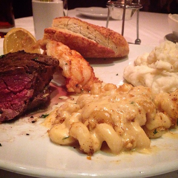 Surf And Turf Special - Fleming's Steakhouse - Austin The Domain, Austin, TX