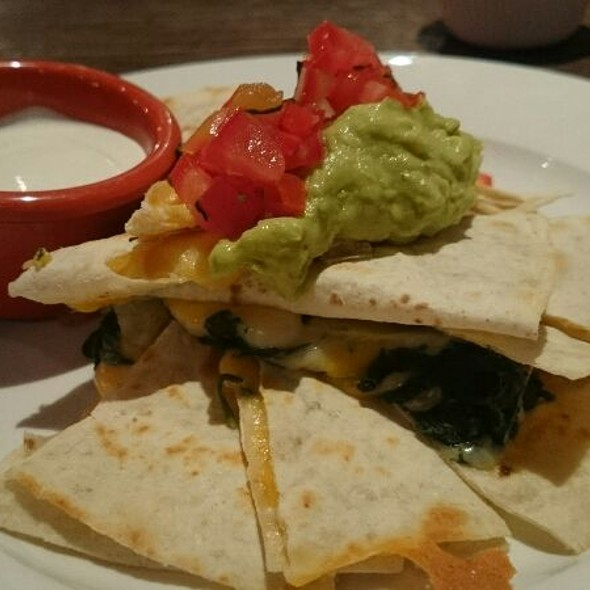 Spinach & Artichoke Quasadilla